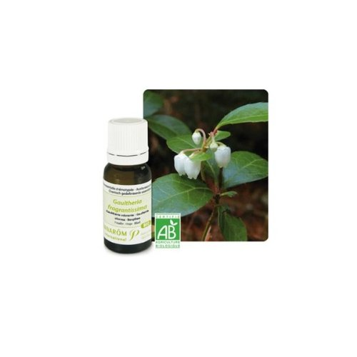 Pranarôm - Gaulthérie odorante Bio (Gaultheria fragantissi) - Huile essentielle