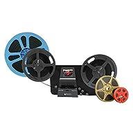 Wolverine 8mm & Super 8 Reels to Digital MovieMaker Pro Film Digitizer, Film Scanner, 8mm Film Scanner, Black (MM100PRO) with Reels
