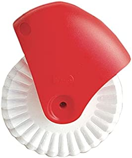 Talisman Designs Pastry Wheel Cutter, Beautiful Lattice Pie Crust or Ravioli Pasta, Easy to Use, Easy to Clean
