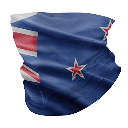 YANGPI New Zealand Flag Designs - Polainas para cuello y cara, protección...