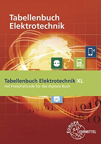 Tabellenbuch Elektrotechnik XL: Buch mit Keycard (unbefristete Lizenz des digitalen Buchs)