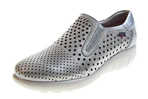 CALLAGHAN Zapatos de Mujer Zapatillas sin Cordones 11603 Plata Talla 39 Plata