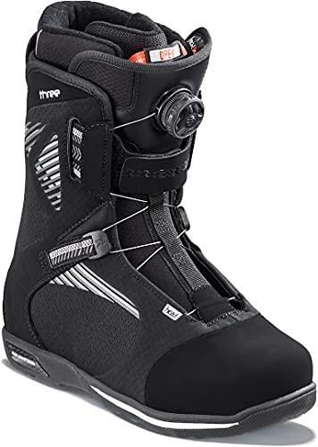 Head Three Boa - Botas de Snowboard, Color Negro,...