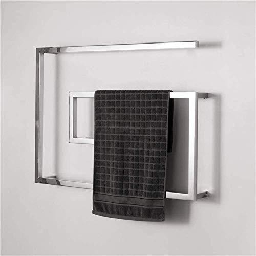 Inicio Equipos Rieles de toalla con calefacción Calentador de toallas de acero...