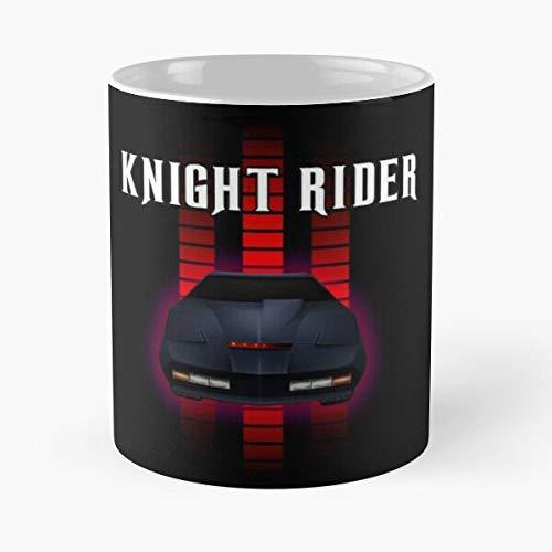The Battlestar Michael Knight Rider Galactica Team Kitt Miami Vice A Best Taza de café de cerámica de 315 ml Personalizar