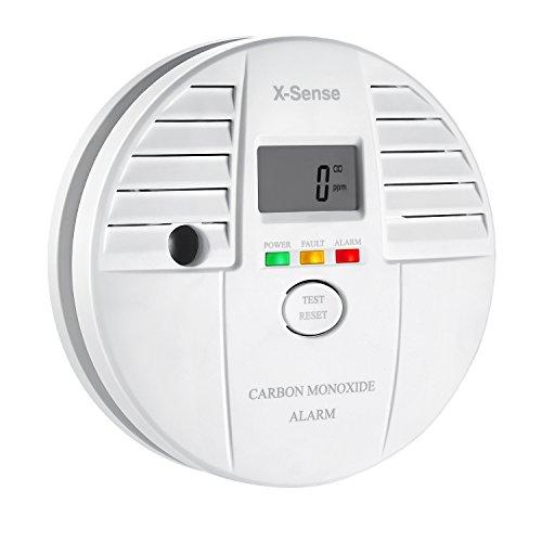 X-Sense CO Melder Kohlenmonoxid Melder mit Digitaler Anzeige 5-Jahres-Batteriebetrieben, CO05S