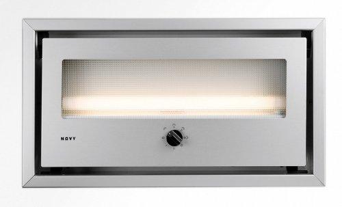 NOVY 814 Intégré Aluminium 470m³/h hotte - Hottes (470 m³/h, Conduit, 59 dB, Intégré, Aluminium, 15 W)
