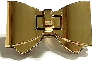 Gaoominy 1 Sets Purse Twist Turn Lock Gouden Haak Doos Klinken Sluiting Tas Lock Kofferbak Purse Lock 60x38mm