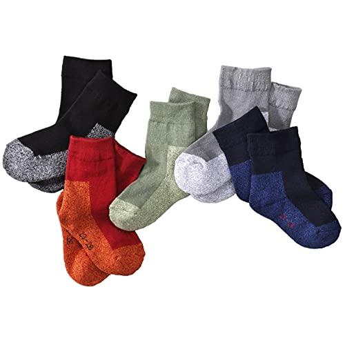 wellyou Baby & Kinder Snap-Socken 5er Set, Moulineé