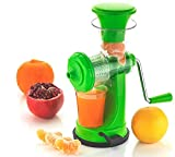 Risentshop Juicer Machine, Juice Maker Machine for Home, Deluxe Fruit & Vegetable Manual