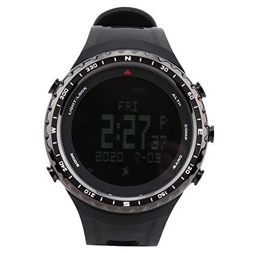 Tbest Sportuhr, Outdoor Sportuhr wasserdichte Armbanduhr Step Count Armbanduhr mit Alarm-Timer zum Klettern Laufen