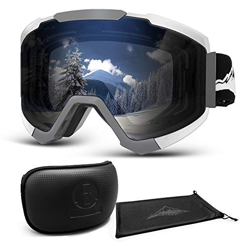 Extra Mile Gafas de esquí,2020 Gafas de ventisca de OTG Snowboard con...