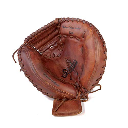 SHOELESS JOE 32' Professional Series Baseball Catcher's Mitts, Left Hand Throw