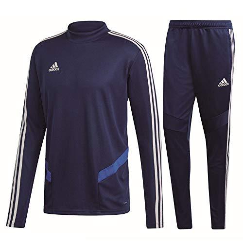 adidas Tiro 19 Trainingsanzug Herren dunkelblau weiß Gr XXL