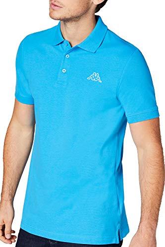 Kappa Herren PELEOT Poloshirt, 726 malibu blue, XXL