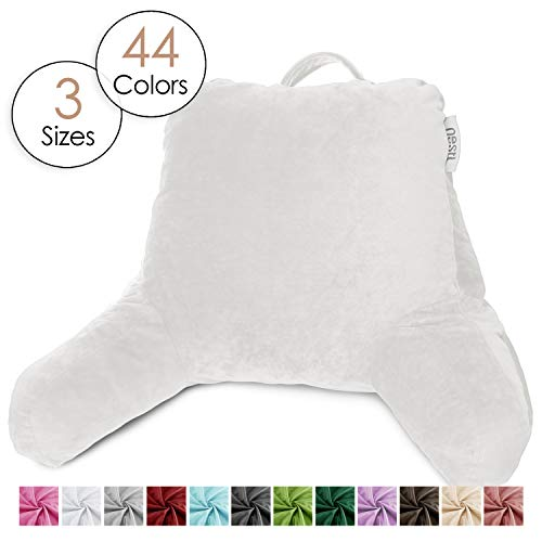 Nestl Reading Pillow, Petite Bed Rest Pillow with Arms for Kids &...