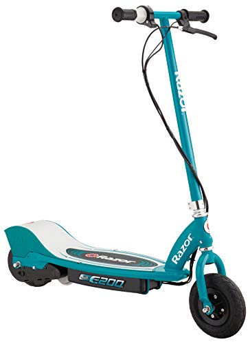 Razor E200 Electric Scooter - Teal , 37 x 16 x 42-Inch