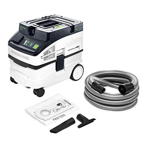 Festool Absauggerät Watt CT 15 E-Aspiradora (1200 W), Color: