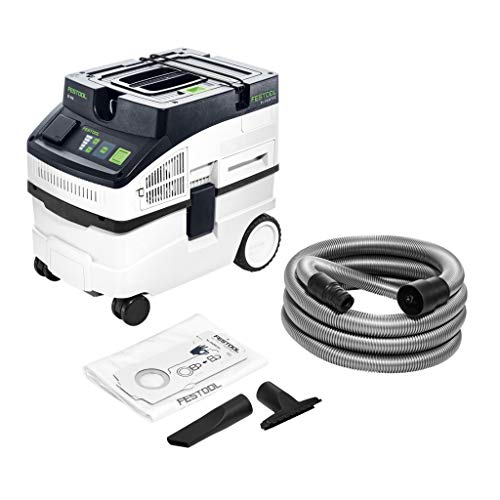 Festool Absauggerät Watt CT 15 E-Aspiradora (1200 W), Color: