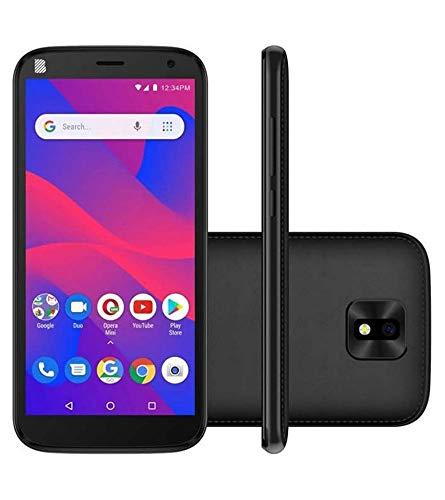 Blu J4 Factory Unlocked Android Cell Phone 32GB Memory 5.5 HD Display (Black)