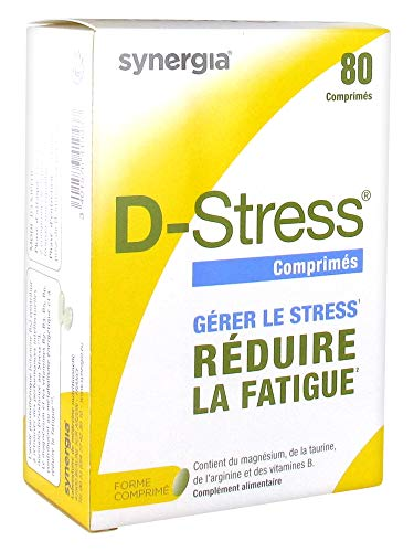 D-Stress Magnésium Hautement Assimilé Taurine, Arginine & Vitamines B (Vitamine B6, B5, B3, B2) Origine France