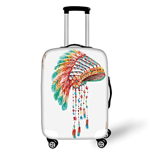 Macaw Watercolor Travel Pouch Carry-on Duffle Bag Waterproof Portable Luggage Bag Attach To Suitcase