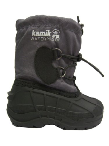 KAMIK Kinder Boots / Stiefel SOUTHFROS2 charcoal: Größe: 29/30
