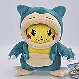 wyxin Anime Pokemon Pikachu Cosplay De Peluche De Juguete 20 Cm, Muñeco De Peluche Suave para Niños