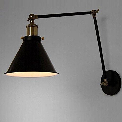 VanMe Vintage Industrial Lampada Da Parete Loft Creative Braccio Di Oscillazione Applique Balcone Stair Portico Ristorante Bar Camera Da Letto Luce Da Parete