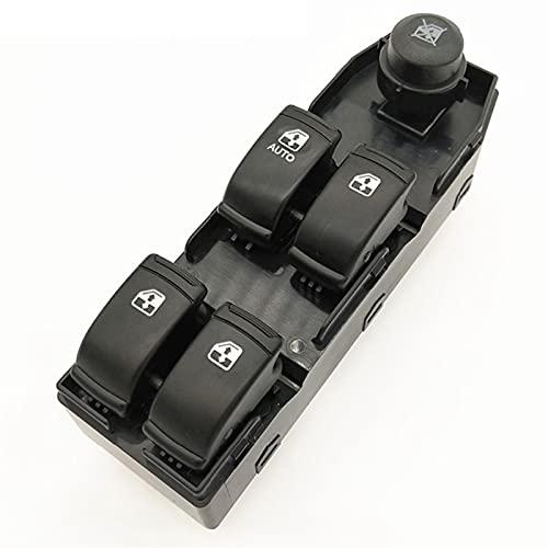 Aouoihnb Interruptor de elevación Delantero de la Ventana Delantero Resistente al Desgaste fácil de Instalar No es fácil de deformar para Chevrolet Optra Lacetti OEM (Color Name : Black)