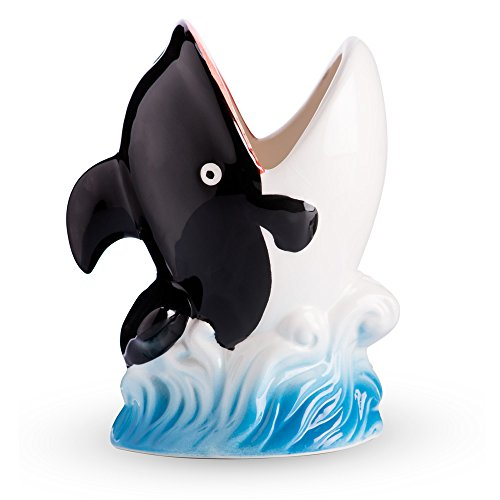 Killer Whale Ceramic Tiki Mug