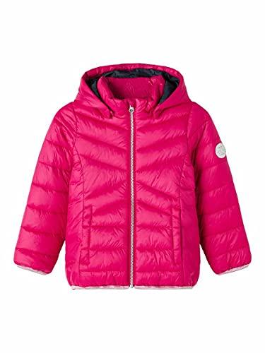 NAME IT MINI Mädchen NMFMOBI Jacket PB Camp Steppjacke, Persian Red, 92