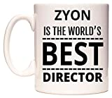 ZYON Is The World's BEST Director Tazza di WeDoMugs®