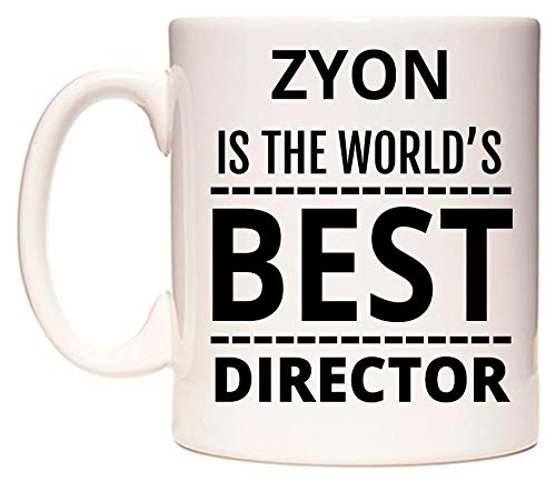 ZYON Is The World's BEST Director Tazza di WeDoMugs