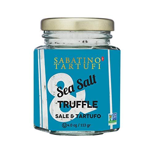 Sabatino Tartufi Truffle Salt Seasoning, All Natural Gourmet Truffle Salt, Sicilian Sea Salt,Kosher, Non-Gmo Project Certified, 4 oz