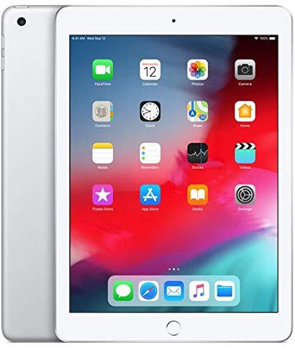 Apple iPad 9.7' 6th Gen 2018 Version Wifi Only- Silver 128GB (Refurbished)