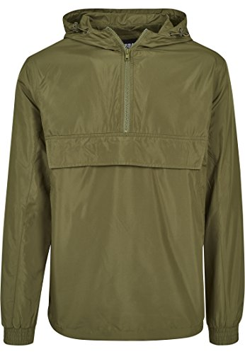 Urban Classics Herren Tb2100 Jacket, Black, XS