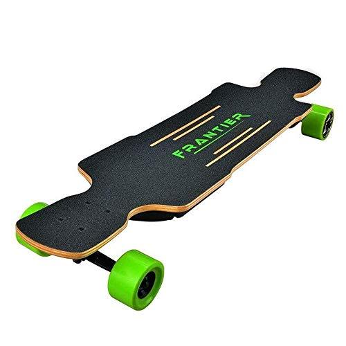 SCOOTER Longboard Elektro-Skateboard, Elektronische Longboard elektrisches Skateboard 83mm 1200W Cube Motor 99 * 24cm Canadian Maple-Batterie-elektrisches Skateboard 36v Ah 30km / H Dual-Motor