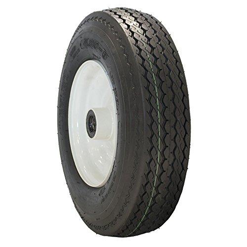 MARASTAR 4.80-8 LRB HST ASSEMBLY Lawn & Garden bias Tire 6ST