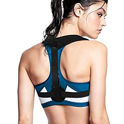 biaobiao Back Posture Corrector for Women & Men,Effective and Comfortable Posture Brace for Slouching & Hunching, Relieves Neck,Upper Back, Shoulder and Bad Posture Pain for Providing Relief