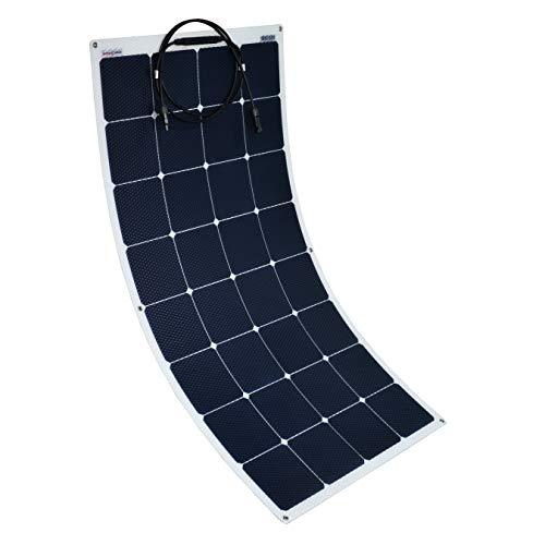 Enjoysolar® hoogwaardig ETFE flexibel zonnepaneel met Sunpower cellen (backcontact) zonnepaneel speciaal voor camper, jacht en boot, 110W