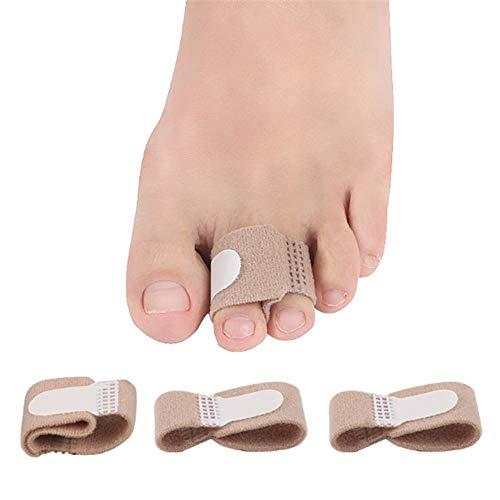 Zehenspreitzer Anself Toe Straightener Toe Tape Bandage Toe Hallux Valgus Corrector Zehenspreitzer Splint Wrap Fußpflege Tool