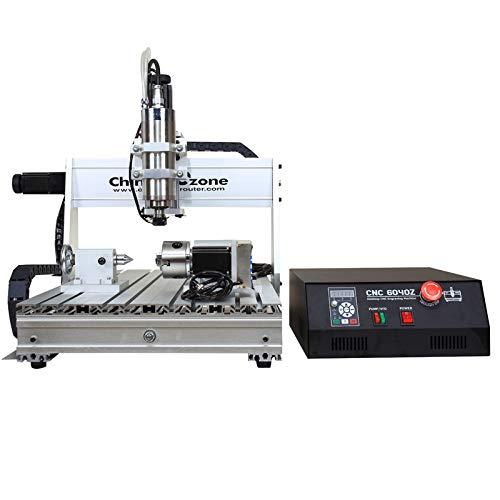 CNC 6040 USB Mach3 Control 2.2KW Enrutador CNC de 4 ejes CNC Tallado en madera...