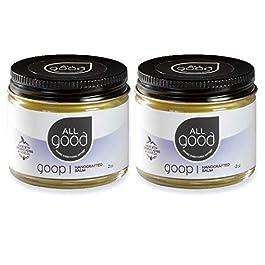 All Good Goop – Organic Skin Relief Balm & Ointment w/Calendula for Dry Skin, Scars, Eczema, Diaper Rash, Bug Bites, Burns, Chapped Lips – Safe for Baby & Sensitive Skin