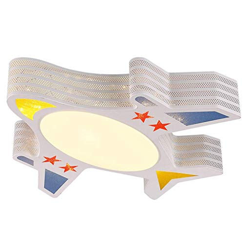 Zixin Three-Color Dimming-Nette Karikatur Kinderzimmer LED-Decken-Lampe Kreative Flugzeugraum Lampe Warm Kleine Schlafzimmer Lampe