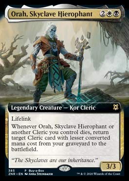 Magic: The Gathering - Orah, Skyclave Hierophant - Foil - Extended Art Buy-A-Box Promo
