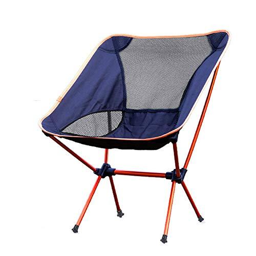 Jianghuayunchuanri Silla Plegable al Aire Libre Silla de Pesca Plegable de Silla de Camping Silla de jardín Ultra luz para Camping Garden