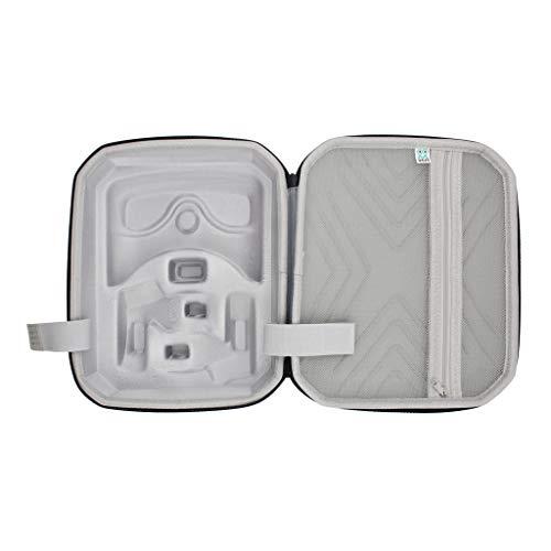 Meipai Bolsa de almacenamiento portátil de viaje EVA funda protectora de transporte de la caja de la maleta para Oculus- Quest 2 accesorios del sistema de realidad virtual