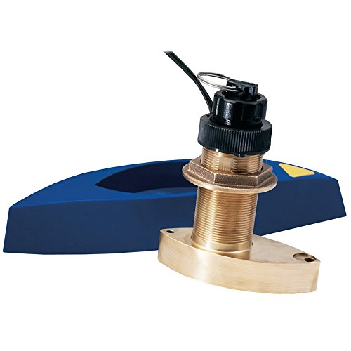 Furuno 525STID-MSD 50/200Khz D/S/T Bronze Thru-Hull Transducer with 30 Meter Cable & 10 Pin Plug