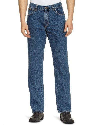 Wrangler Herren Texas Contrast\' Jeans Blau (VINTAGE STONEWASH), W46/L34, W12105096